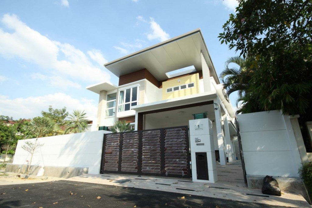 Extension And Renovation Of 2 Storey Semi D House Sunway Damansara Tranzform Design Consultants